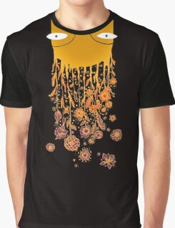 Psychedelic flower power Graphic T-Shirt