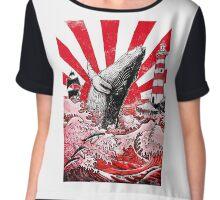 Japan Whale Chiffon Top