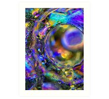 Psychedelic Tunnel Art Print