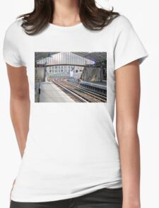 Paris Metro - Sevres-Lecourbe Station Womens Fitted T-Shirt