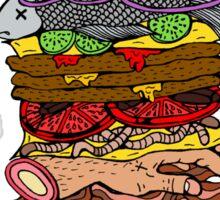 Ze Ultimate Burger Sticker