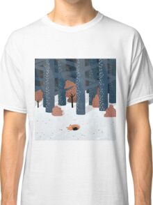 Asleep in the Woods Classic T-Shirt
