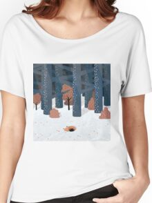 Asleep in the Woods Women's Relaxed Fit T-Shirt