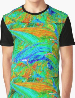 Fabulous Trumpet Flower Graphic T-Shirt