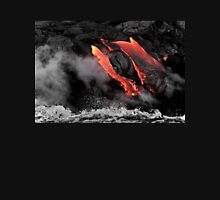Lava Flow at Kalapana 6 Unisex T-Shirt