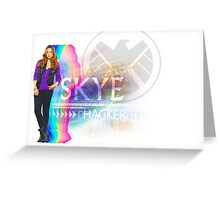 Multi-Color Hacker Skye Greeting Card