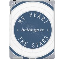 My Heart Belongs to the Stars Constellation Chart Design iPad Case/Skin