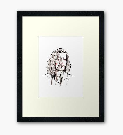 Sirius Black Framed Print