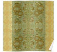 Ornamental Textiles- Dreaming of Da Vinci Poster