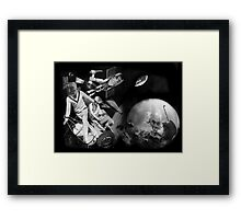 1000 Fathoms Above and Below. Framed Print