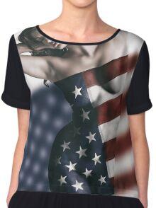 American Girl Chiffon Top
