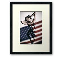 American Girl Framed Print