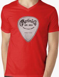 MARTIN GUITAR PIC Mens V-Neck T-Shirt