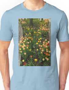 The Best Traffic Island in Town - Enjoying the Beauty of Spring Unisex T-Shirt