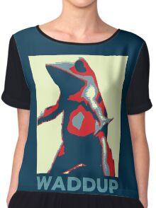 Boi : Waddup Chiffon Top