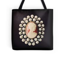 Classic Vintage Cameo Tote Bag