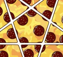 Hail Pizza Without Olives Sticker