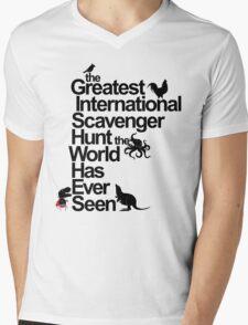 the Greatest International Scavenger Hunt the World Has Ever Seen Mens V-Neck T-Shirt