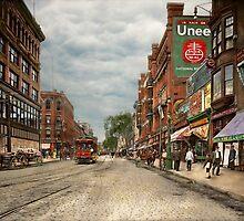 City - Lowell MA - A dam good company 1908 by Mike  Savad