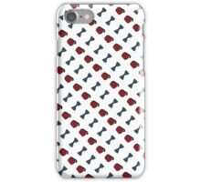 Doctor Who Fez and Bowtie pattern iPhone Case/Skin