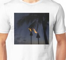Just After Sunset, the Beach Party is Starting... Unisex T-Shirt