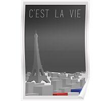 Cest La Vie Poster