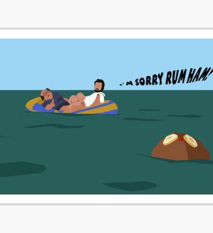 The Death of Rum Ham Sticker