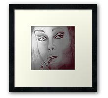 Whos that girl Framed Print