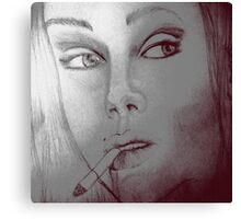 Whos that girl Canvas Print