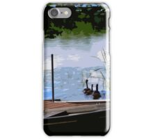 geese away iPhone Case/Skin