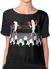 Featherweight boxers Chiffon Top