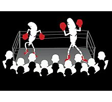 Featherweight boxers Photographic Print