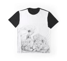 Feline love Graphic T-Shirt