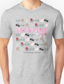 Let's Play Pink T Shirt Unisex T-Shirt
