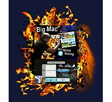 Big Mac vs Wii Sports Boxing Photographic Print