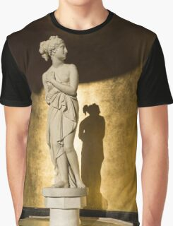 The Marble Lady and Her Shadow Graphic T-Shirt