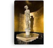 The Marble Lady and Her Shadow Canvas Print