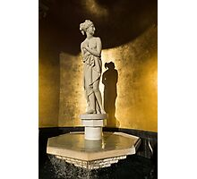 The Marble Lady and Her Shadow Photographic Print