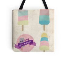 We love ice cream Tote Bag