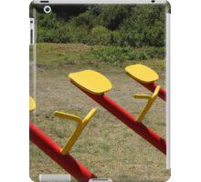Playground Equipment iPad Case/Skin
