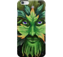 The Greenman iPhone Case/Skin