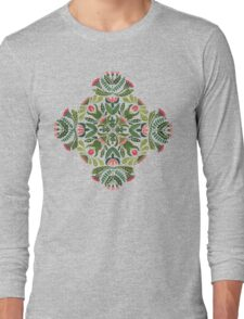 Little red riding hood - mandala pattern Long Sleeve T-Shirt