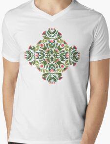 Little red riding hood - mandala pattern Mens V-Neck T-Shirt