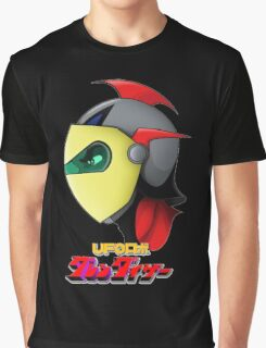 UFO Robot Graphic T-Shirt
