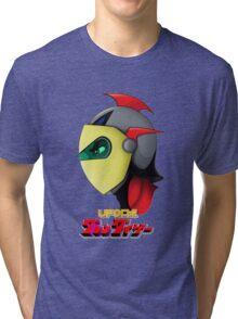 UFO Robot Tri-blend T-Shirt
