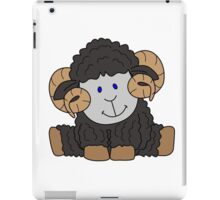 Black Ram iPad Case/Skin