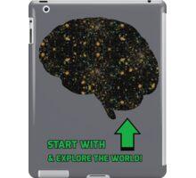 Explore the World! iPad Case/Skin