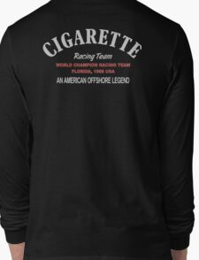 Cigarette Racing Team - Speed Boats - Powerbooats Long Sleeve T-Shirt