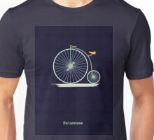 Old School Hipster Unisex T-Shirt