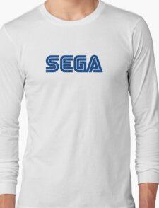 sega logo game Long Sleeve T-Shirt